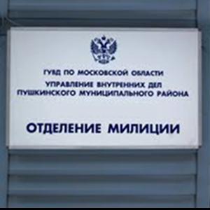 Отделения полиции Красновишерска